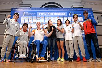 【記者会見】5/13・14開催「2017世界トライアスロンシリーズ横浜大会」がいよいよ幕開け!