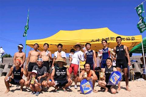 2014年 大崎上島サマーフェスティバル カヌートライアスロン