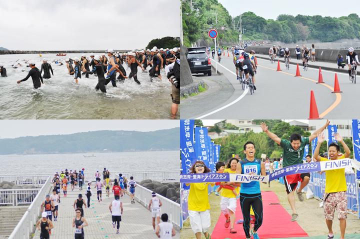 伊勢志摩・里海トライアスロン大会2017