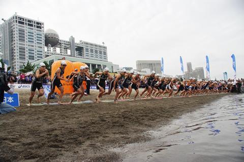 第21回日本トライアスロン選手権(2015/東京港)