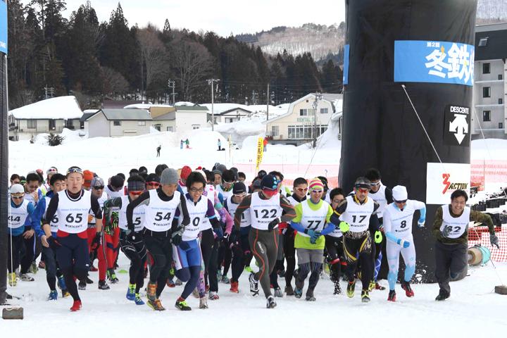 第2回冬鉄人祭・2015ウィンタートライアスロン・フェスタin白馬岩岳